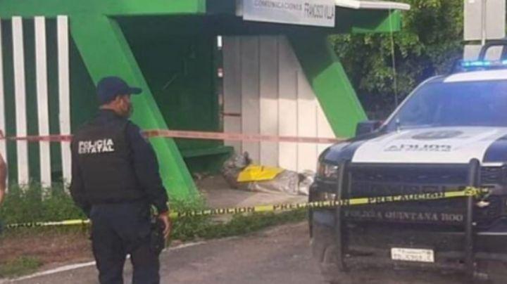En una parada de camión, encuentran muerto a 'El Chore', responsable de fosas clandestinas