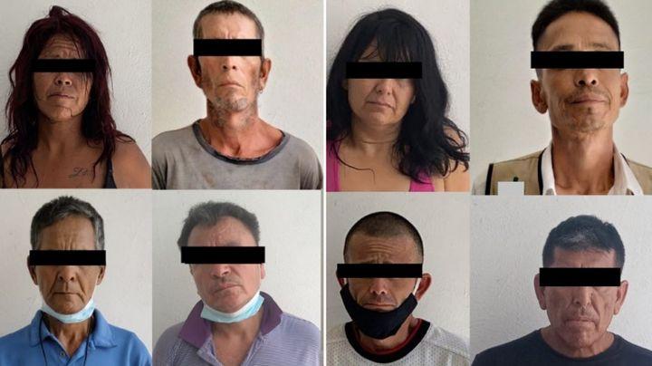 Aprehenden a 28 personas y aseguran más de mil 800 dosis de droga en Hermosillo