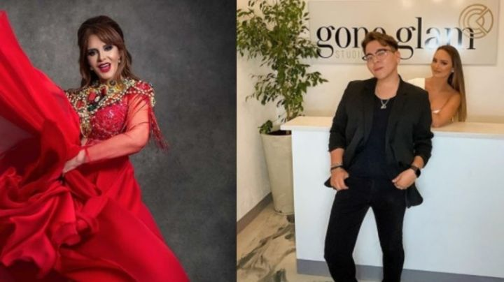 "Maquillista exhibe 'pésimo comportamiento' de la cantante Lucía Méndez: ""A chin...a su m..."""
