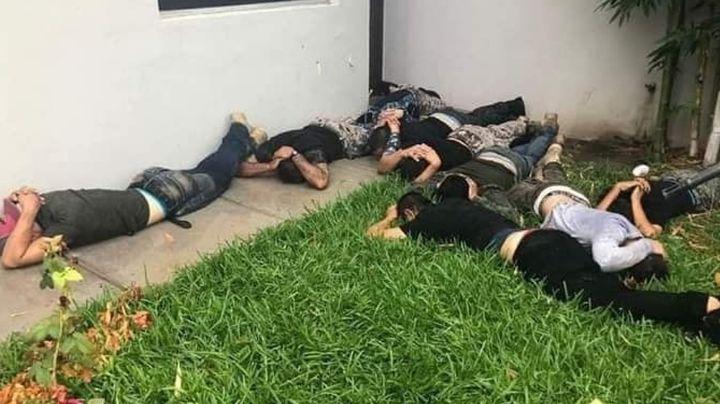 Se enfrentan sicarios y autoridades en Magdalena de Kino; hay un muerto y 10 detenidos