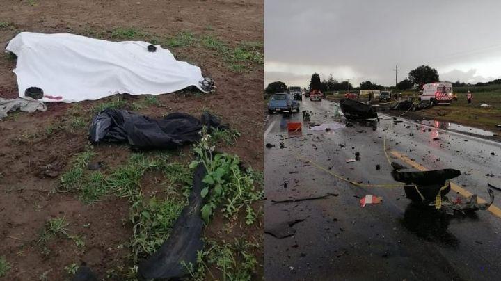 Devastador choque en carretera México-Veracruz deja 2 víctimas fatales