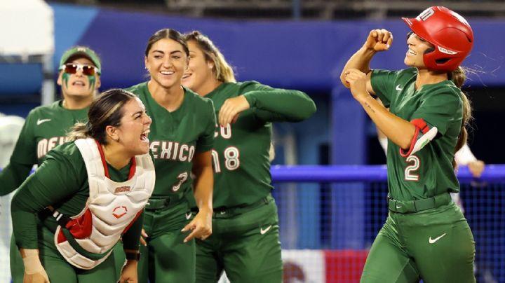 ¿Habrá medalla en el softbol? México derrota a Italia en los Juegos Olímpicos de Tokyo 2020