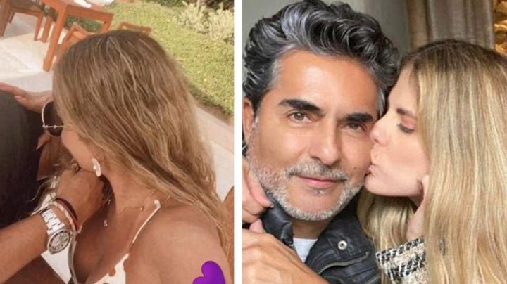"""'El Negro' Araiza sorprende al posar en Instagram con su novia 20 años menor: """"Mi mejor casualidad"""""""