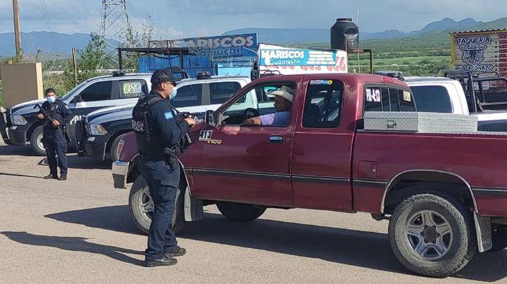 Refuerzan seguridad en Magdalena de Kino tras enfrentamientos entre sicarios y autoridades