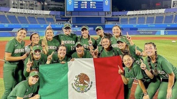 ¡Equipo de softbol va por el Bronce! México derrota a Australia en los Juegos Olímpicos Tokio 2020
