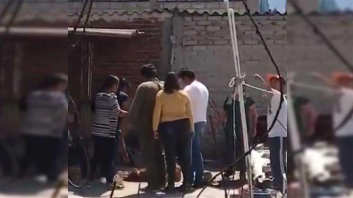 VIDEO: Familia de Tlalnepantla tortura a un perro por morder a una integrante