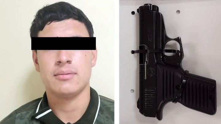 Lo detiene la Policía por deambular con arma de fuego en calles de San Luis Río Colorado