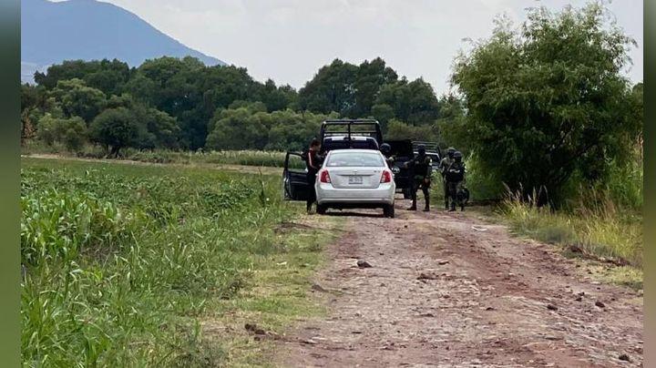 Junto a un canal de riego, abandonan el cuerpo de una persona en Juventino Rosas