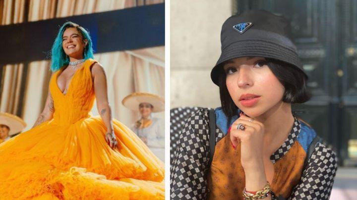 """""""No me gustó, fue feo"""": Ángela Aguilar, indignada con Karol G tras cantar con mariachi en PJ"""