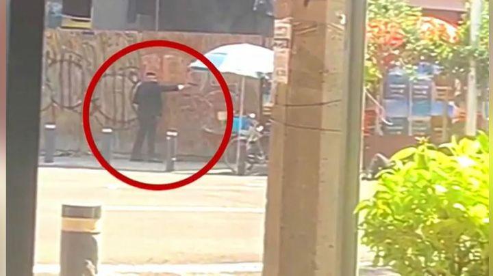 Pánico en CDMX: A plena luz del día, se desata una intensa balacera; hay un policía herido de gravedad