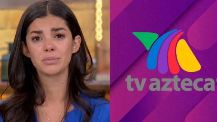 """""""Temo por mi vida"""": Actriz de TV Azteca dejará México tras denunciar violación y quedarse sin dinero"""