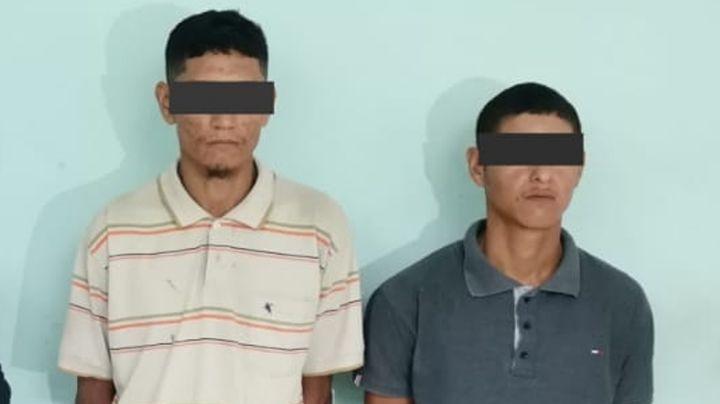 Agarran a dos presuntos 'tiradores' al sur de Ciudad Obregón; llevaban 20 dosis de 'crystal'