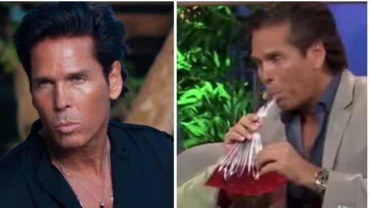 Roberto Palazuelos 'critica' a la producción de Yordi Rosado por ofrecerle refresco en bolsa