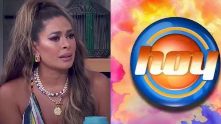 """¿Despedida de Televisa? Galilea Montijo habla de más en 'Hoy' y ataca a productora: """"Ay me violó"""""""