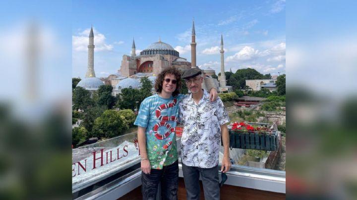 Tras percance en el aeropuerto, Luisito Comunica y su papá disfrutan del turismo en Turquía