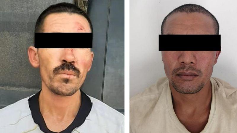 Atrapan a dos sujetos armados al sur de Hermosillo; llevaban varias dosis de droga