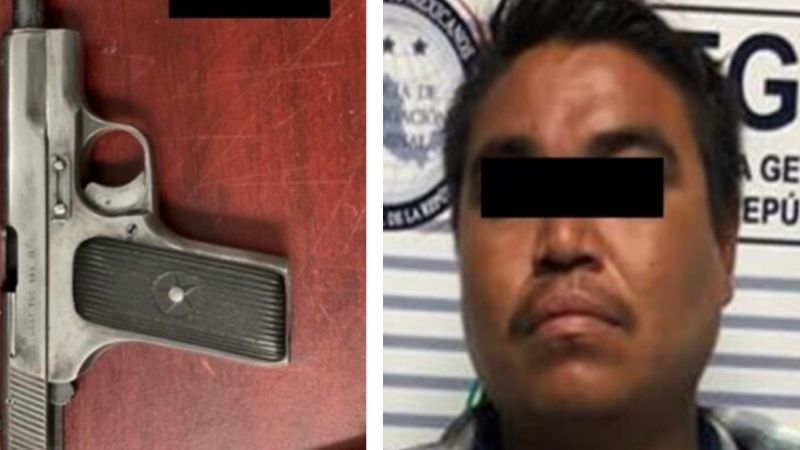 Aprehenden a Martín en carretera de Sonora; viajaba con un arma de fuego cargada
