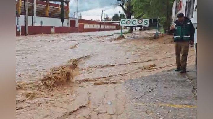 De nueva cuenta, el agua se apodera de las calles de Nogales; no se reportan decesos