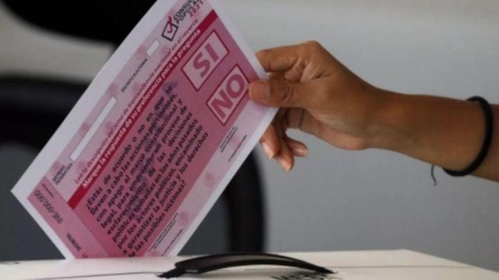 CNDH celebra que la Consulta Popular promovida por AMLO le 'dé voz y voto al pueblo'
