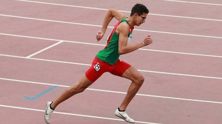 ¡Poder mexicano! Tonatiú López avanza a semifinales de la prueba de 800 metros en Tokio 2020