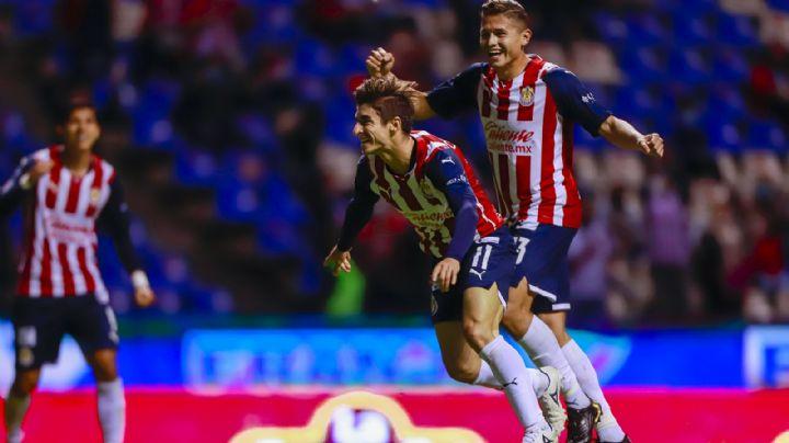 ¡Ganaron las Chivas! El Guadalajara saca los tres puntos en su visita al Puebla