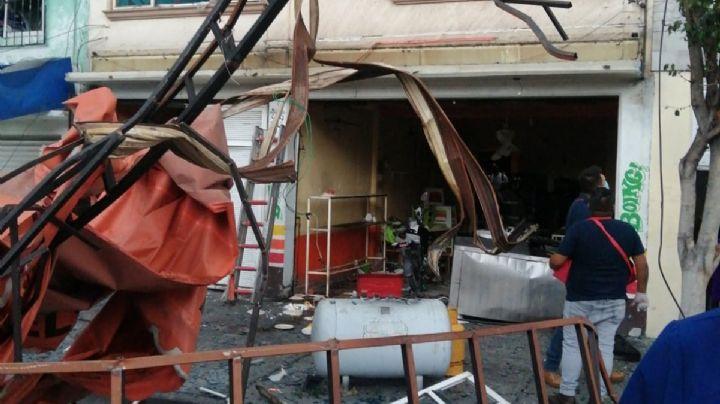 FOTOS: ¡Pánico total! Explota una taquería en la CDMX; el incidente dejó a 12 personas lesionadas