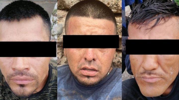 Aprehenden a tres presuntos sicarios en Magdalena de Kino; transportaban armamento