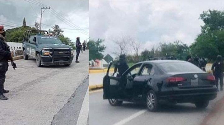 Sangriento fin de semana: Policías estatales se enfrentan a comando armado en carretera; abaten a 5