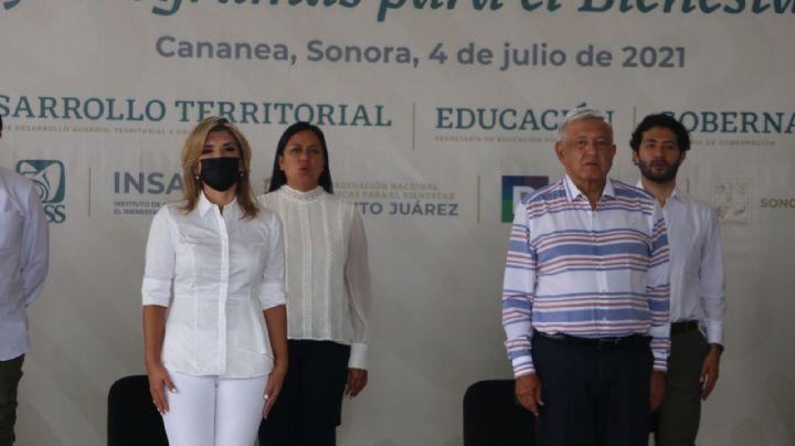 Agradecimiento y despedida: El mensaje de Claudia Pavlovich tras la visita de AMLO en Sonora