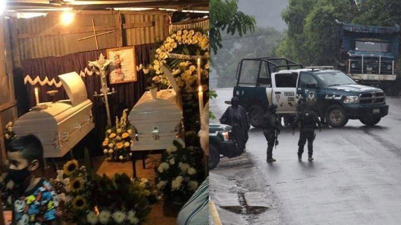 FUERTES IMÁGENES: Matan a 2 menores en enfrentamiento de Fuerza Civil de Veracruz y sicarios del CJNG