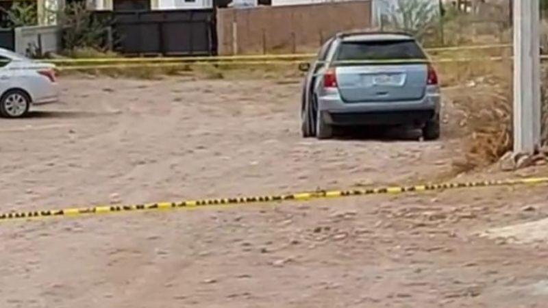De terror: A primeras horas del día, balean a hombre abordo de su auto en San Carlos