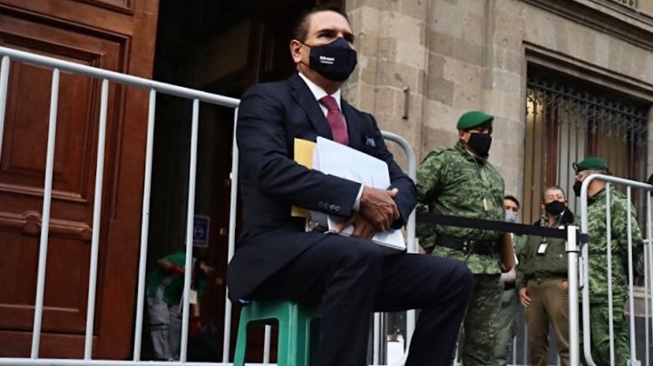 Silvano Aureoles consigue audiencia con la FGR para entregar pruebas contra Morena