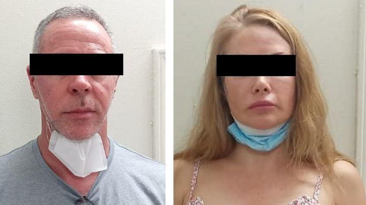 Arrestan a pareja estadounidense en frontera de Sonora; portaba arma de fuego cargada