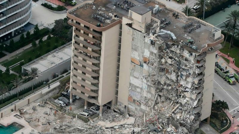 Lamentable: Incrementa el número de muertos por el desplome del edificio en Miami