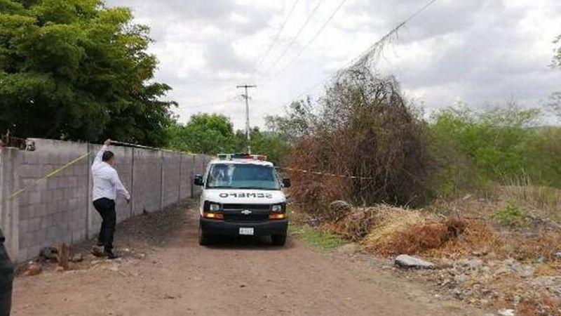 Culiacán: En predio abandonado, localizan dos cadáveres; tenían huellas de tortura e impactos de bala