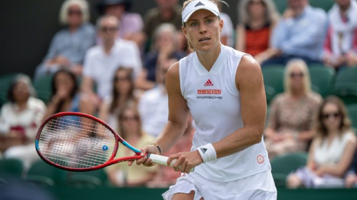 ¡Está de vuelta! Angelique Kerber regresa a semifinales en el Torneo de Wimbledon