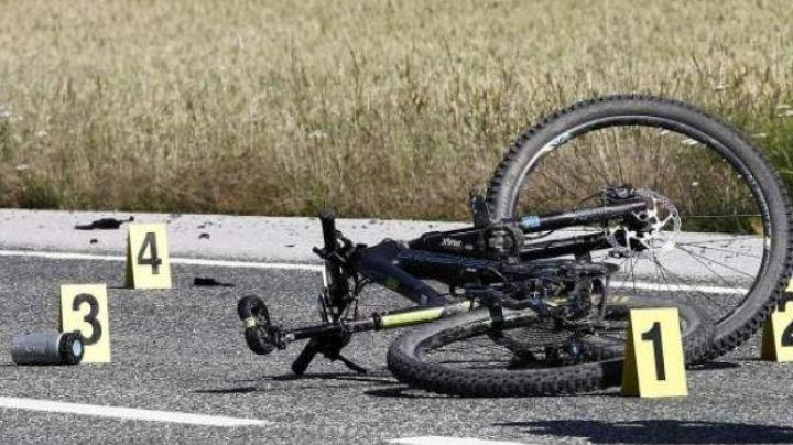 Automovilista atropella a hombre que viajaba en bicicleta; perdió la vida al instante