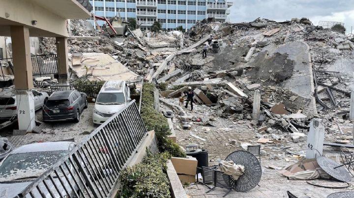 FOTOS: Hallan 4 cadáveres más en los escombros del edificio de Miami; las víctimas aumentan a 32