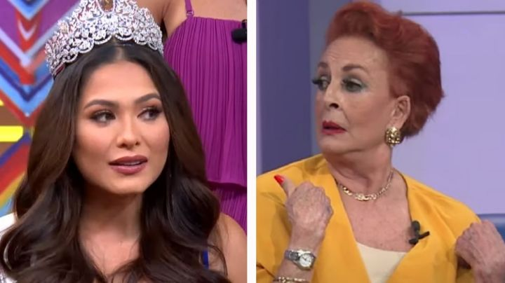 ¿Y los modales? Destrozan a Talina Fernández por toser en la cara a Andrea Meza, Miss Universo 2020