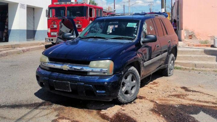 Ataque armado siembra terror en Pitiquito; camioneta fue rafagueada en pleno centro