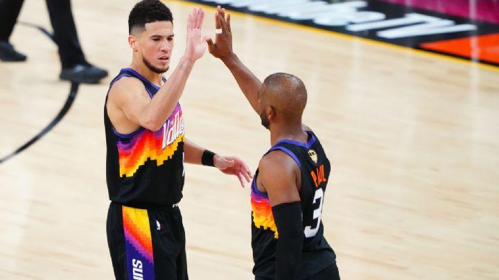 Los Suns opacan el regreso de Antetokounmpo y toman ventaja en las Finales NBA
