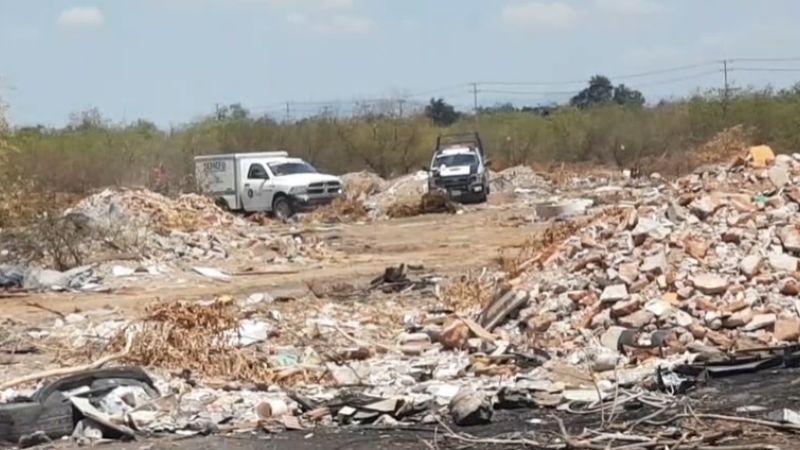 Entre escombros y basura encuentran el cadáver de una persona en Villa Bonita