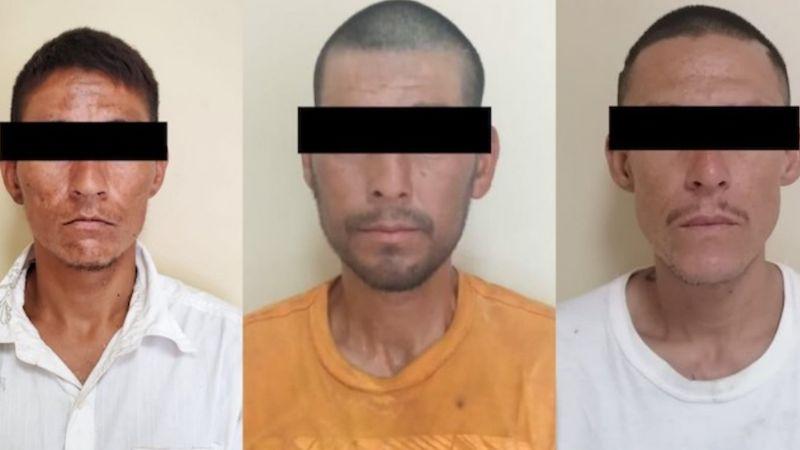 Capturan en San Luis Río Colorado a Ángel, Adalberto y José, supuestos 'tiradores'