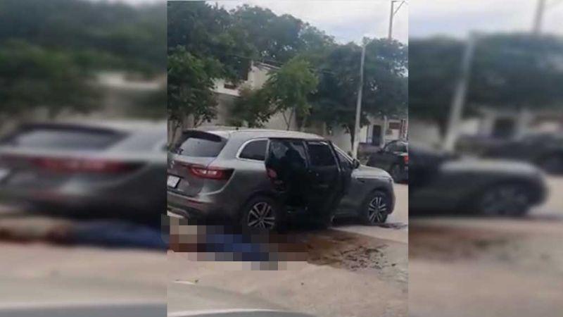 """(VIDEO) """"Hey, hay uno vivo"""": Enfrentamiento en Tuxtla Gutiérrez deja varios muertos"""