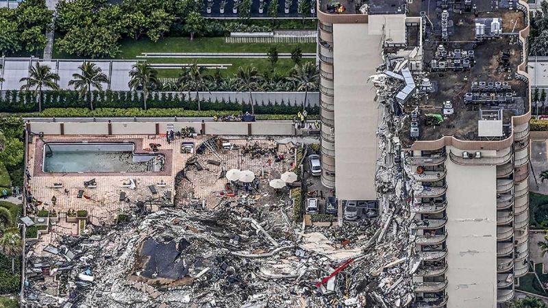 Autoridades de Miami anuncian fin de la búsqueda de sobrevivientes del Champlain Tower