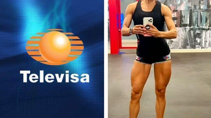 """""""Parece Arnold Schwarzenegger"""": Famosa actriz de Televisa luce brutal cambio físico y deja en shock"""
