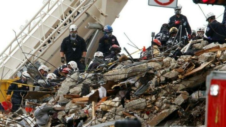 Miami: Aumenta a 60 el número de muertes por el colapso de Champlan Towers South