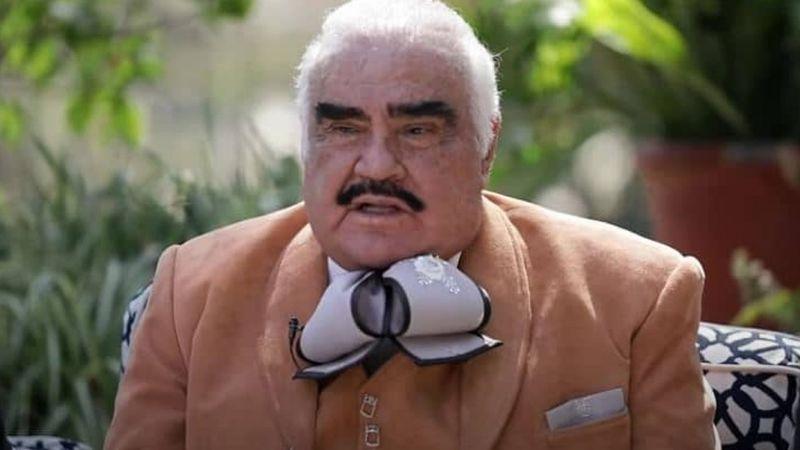 Vicente Fernández fue hospitalizado de emergencia por esta enfermedad; revelan su estado de salud