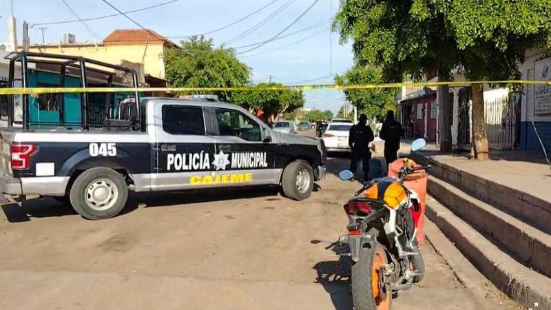 Terror: A primeras horas del día, tiroteo alerta en Ciudad Obregón; hay una víctima mortal