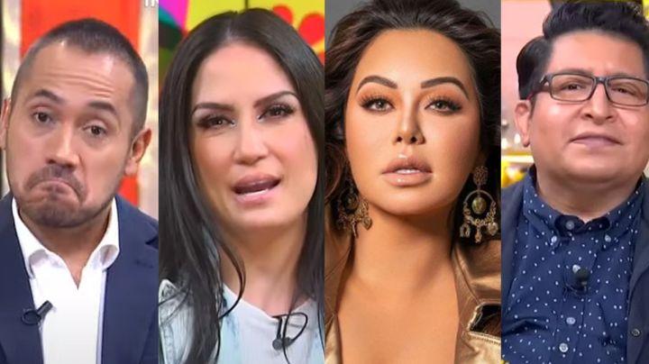 VIDEO: Elenco de 'Sale el Sol' manda recadito a Chiquis Rivera tras lanzar polémica FOTO en sábanas